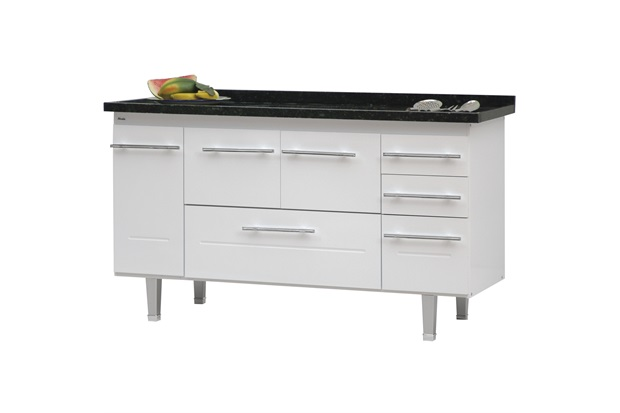 Gabinete para Cozinha em Mdf Life 150 Cm - Bonatto