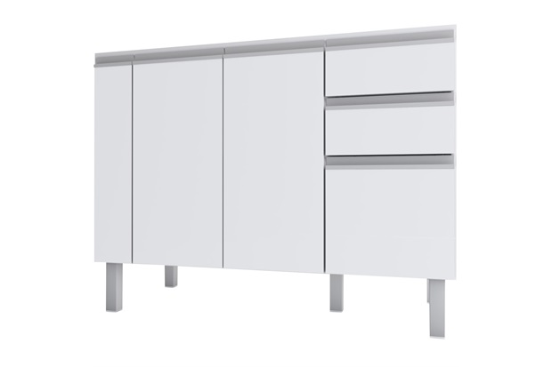 Gabinete para Cozinha Tupã 114cm - Cozimax