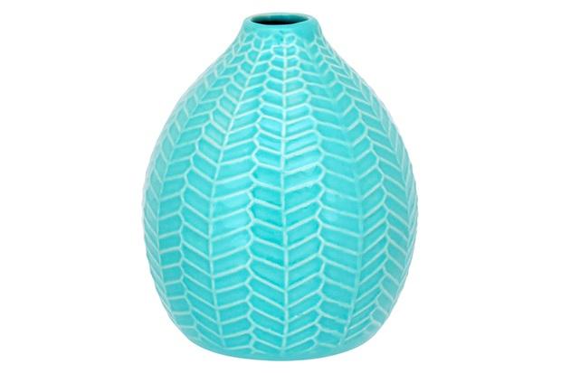 Garrafa em Cerâmica Home&Co 14x12,1cm Azul - GS
