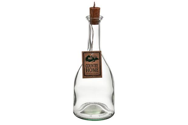 Garrafa em Vidro Country Bormioli 500ml Transparente - Casa Etna