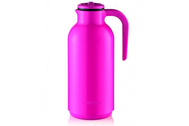 Garrafa Térmica em Plástico Reunir 1 Litro Pink - Sanremo