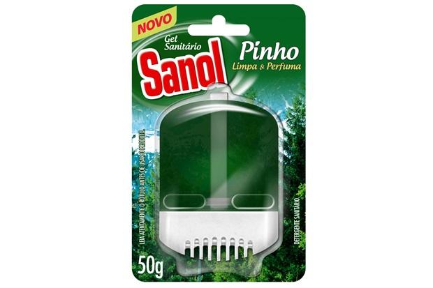 Gel Sanitário Pinho 50g - Total Química