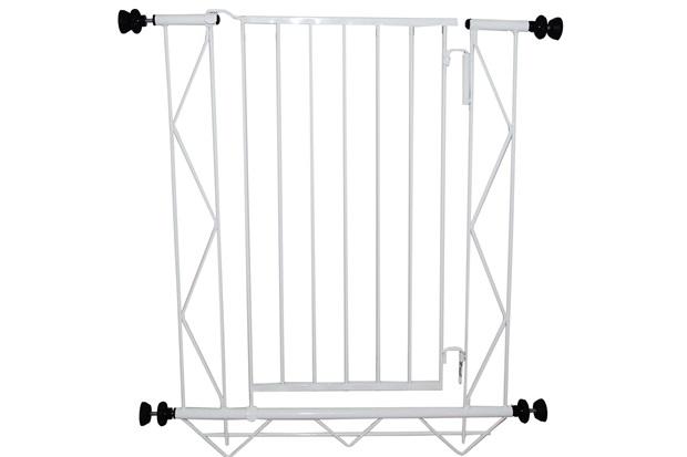 Grade de Porta em Aço  83x70cm Branca - Alambre