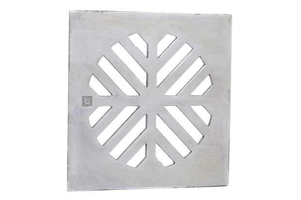 Grelha para Caixa Sifonada Quadrada 10cm Alumínio - Costa Navarro