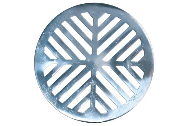 Grelha para Caixa Sifonada Redonda 15cm Alumínio - Costa Navarro