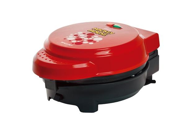 Grill Multiplacas 830w 220v Mickey Mouse Preto E Vermelho - LLUM Bronzearte