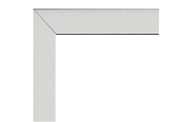 Guarnição em Alumínio para Porta Balcão Alumifort 216x120cm Branca - Sasazaki