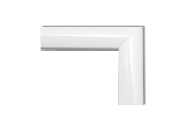 Guarnição para Janela em Alumínio Plus 100x120cm com 4 Peças Branca - Brimak