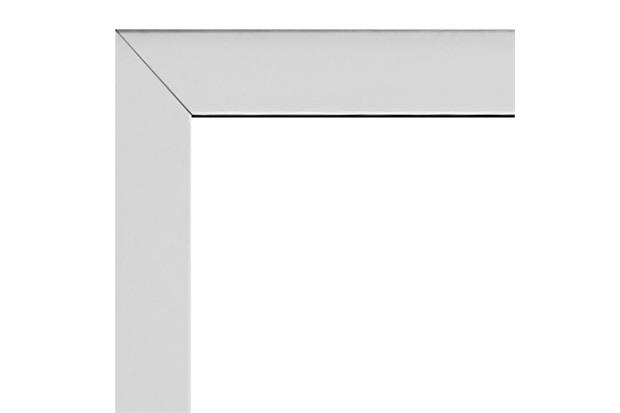 Guarnição para Janela Integrada Aluminium 140x140cm Branca - Sasazaki