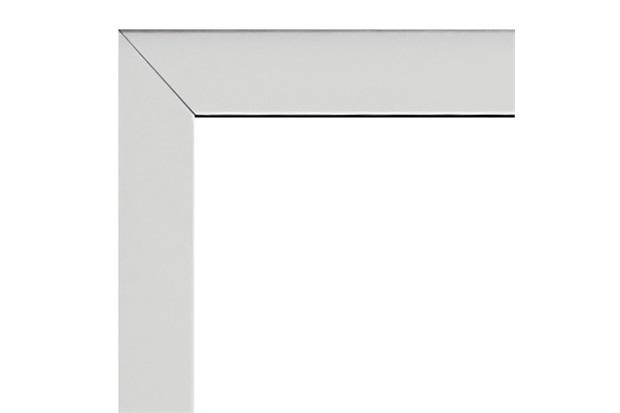 Guarnição para Porta Alumifort 216x68cm Branca - Sasazaki