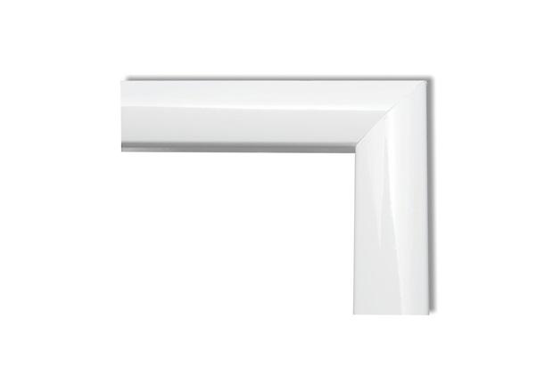 Guarnição para Porta de Correr em Alumínio Plus 210x150cm com 3 Peças Branca - Brimak