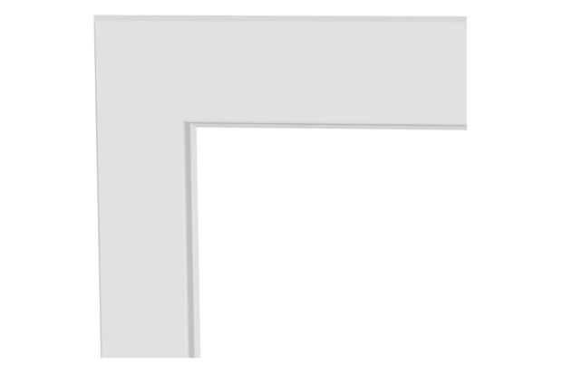 Guarnição para Porta de Giro Lambri 217x100cm Branca - Lucasa