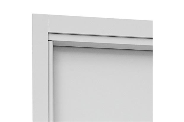 Guarnição para Porta Interna Aluminium 215x78x14cm Branca - Sasazaki