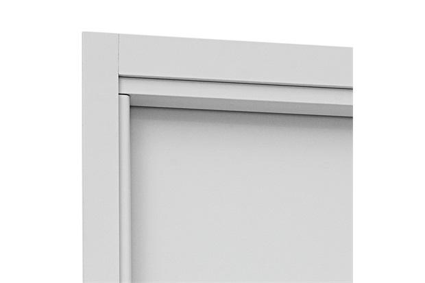 Guarnição para Porta Interna Aluminium 215x88cm Branca - Sasazaki