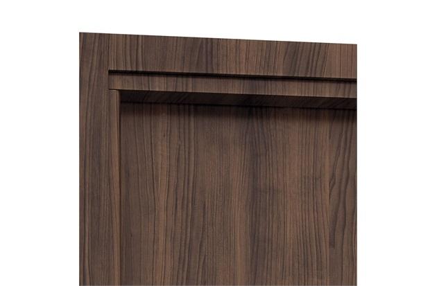 Guarnição para Porta Interna Aluminium 215x88cm Madeira - Sasazaki