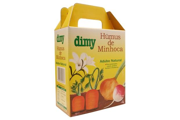 Humus de Minhoca 1kg - Dimy
