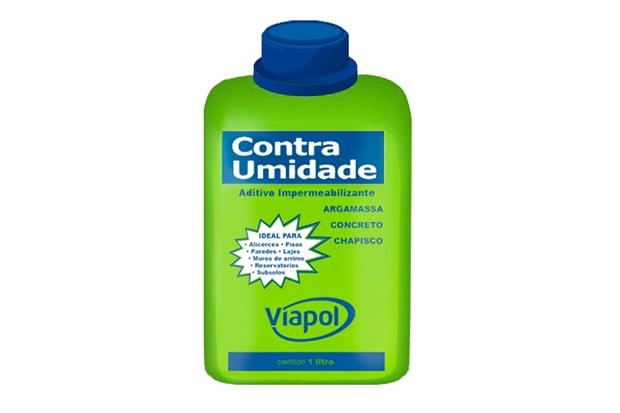 Impermeabilizante Contra Umidade Frasco 1 Litro - Viapol
