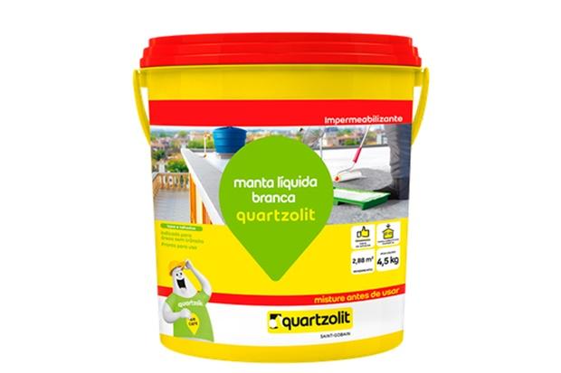 Impermeabilizante Manta Líquida Branca 4,5kg - Quartzolit