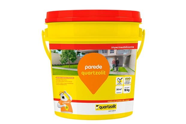 Impermeabilizante para Parede Branco 18kg - Quartzolit