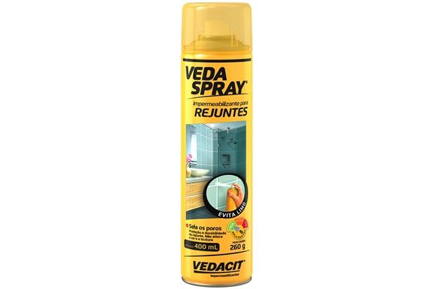 Impermeabilizante para Rejunte Vedaspray 400ml Transparente - Vedacit
