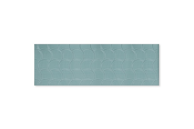 Inserto Acetinado Borda Reta Shell Secret Garden 30x90cm - Roca