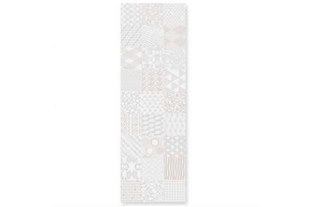 Inserto Esmaltado Acetinado Borda Reta Alfama Multicor 30x90,2cm - Incepa
