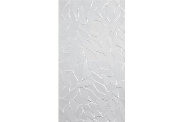 Inserto Esmaltado Acetinado Borda Reta Fler Branco 32x59cm - Incepa