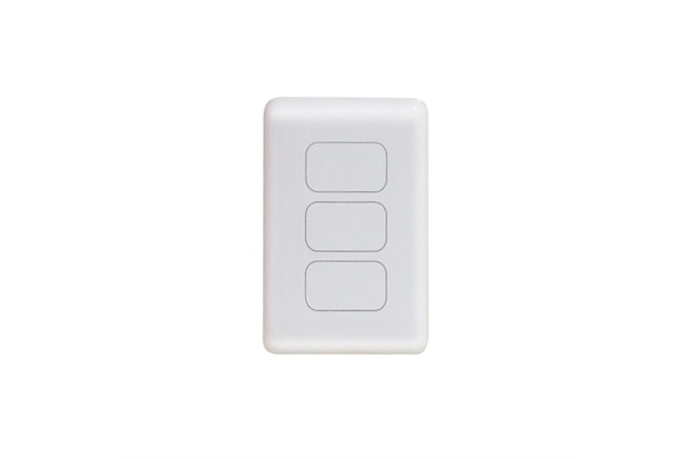 Interruptor Digital 3 Pads One Touch  - Amicus