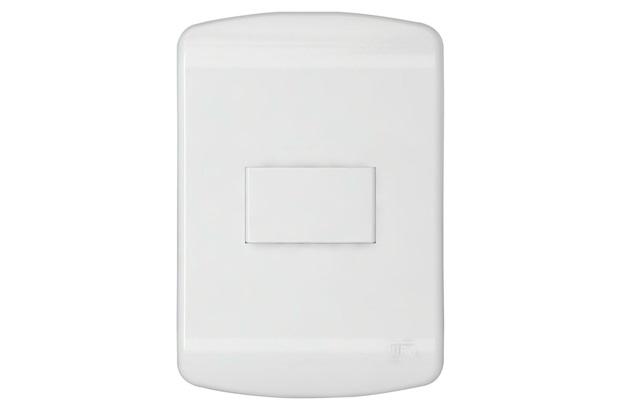 Interruptor Simples 10a 250v Granbella Branco - WEG