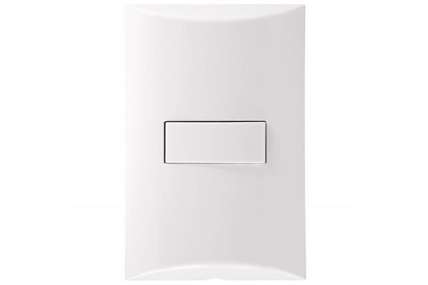 Interruptor Simples 4x2 10a 250v Brava Branco - Iriel