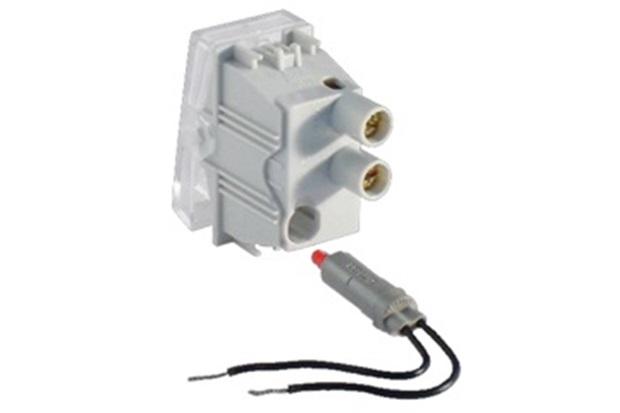 Interruptor Simples Base Luminosa sem Led 10a 250v Branco S30 - Simon
