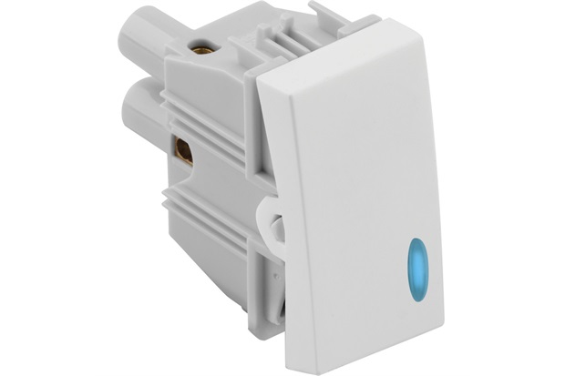 Interruptor Simples com Luz 10a 220v Simon 30 Branco - Simon