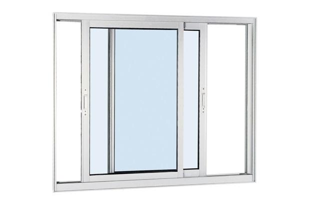 Janela de Correr Aluminium 120x150cm Branca - Sasazaki