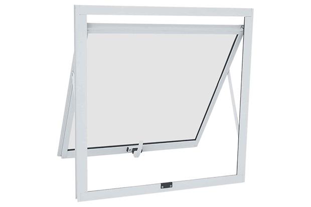 Janela Maxim-Ar Alumifit 60,5x60,5cm Branca - Sasazaki