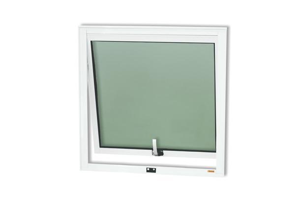 Janela Maxim-Ar em Alumínio Confort 60x80cm Branco Brilhante - Brimak