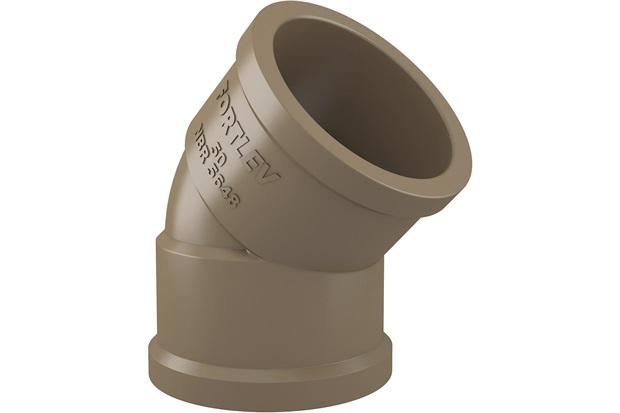 Joelho Soldável 45° 25mm - Fortlev
