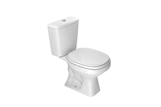 Kit Bacia com Caixa Acoplada Aspen + Assento Sanitário Branco - Deca