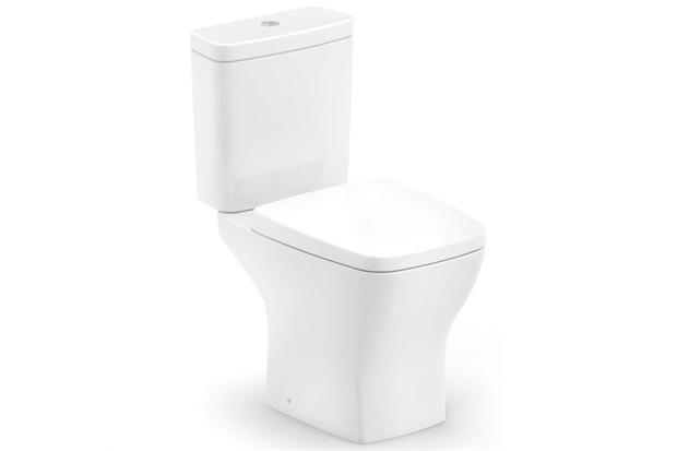 Kit Bacia com Caixa Acoplada Boss 3/6 Litros + Assento Sanitário Soft Close em Polipropileno Branco - Incepa