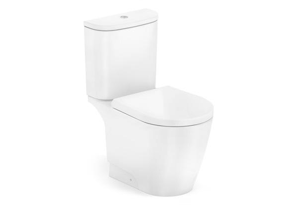 Kit Bacia com Caixa Acoplada E Assento Sanitário Neo Branco Matte - Incepa