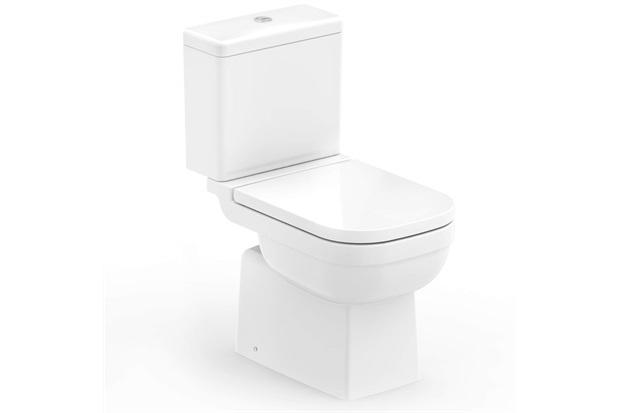 Kit Bacia com Caixa Acoplada Elite 3/6 Litros + Assento Sanitário Soft Close em Polipropileno Branco - Celite