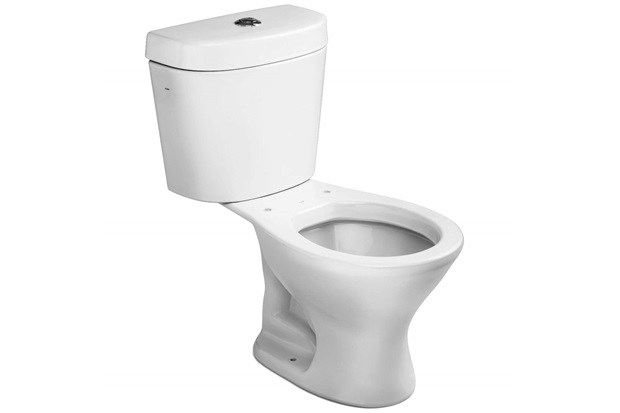 Kit Bacia Infantil com Caixa Acoplada 3 a 6 Litros E Assento Sanitário Branco - Icasa
