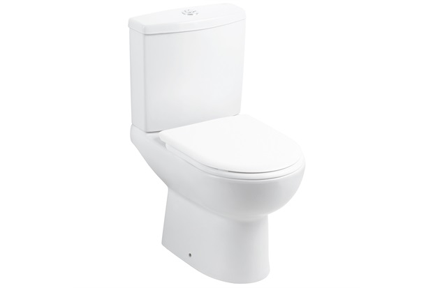 Kit Bacia Sanitária E Assento Soft Close com Caixa Acoplada Smart Branco Matte - Celite