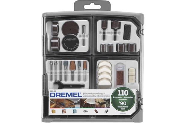 Kit de Acessórios para Micro Retífica com 110 Peças - Dremel