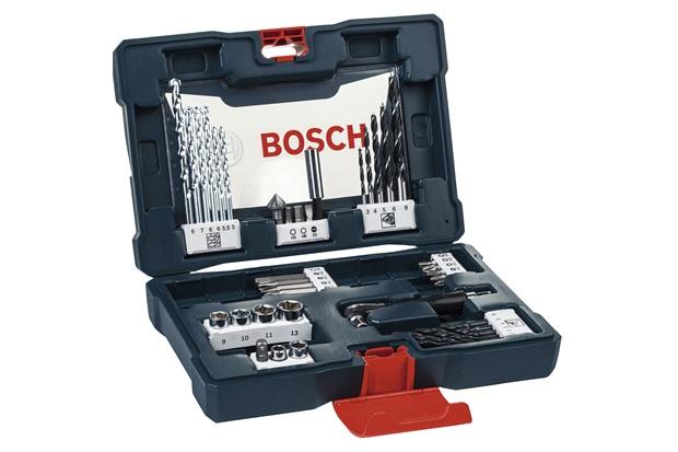Kit de Acessórios V-Line com 41 Peças Multiuso - Bosch