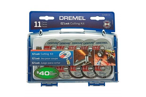 Kit de Discos de Corte para Microrretífica com 11 Peças Cinza - Dremel