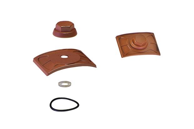 Kit de Fixação para Telha com 20 Peças Cerâmica - Precon