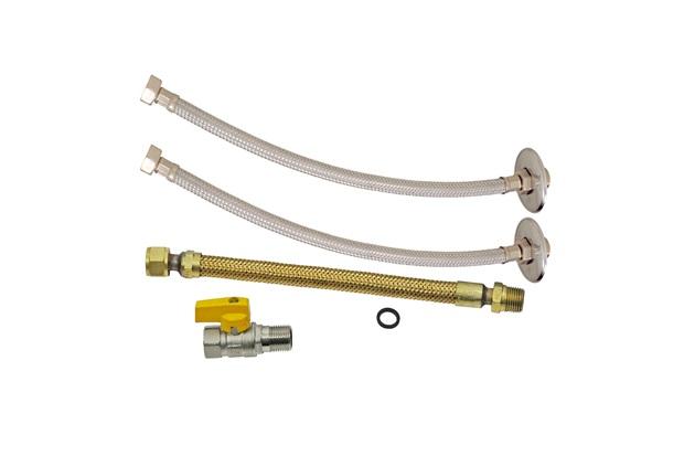 """Kit de Instalação para Aquecedor a Gás Dn15 1/2""""X30cm - GTRES"""