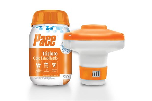 Kit Hth Flutuador E Pastilhas Tricloro Pequenas Piscinas 500g - Pace