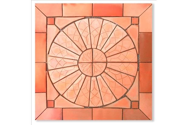 Kit Mosaico Sol Nascente 100x100cm - Fênix