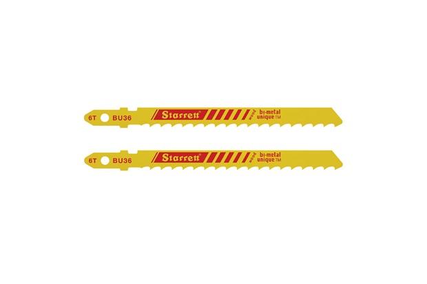 Lâmina para Serra Tico-Tico 6 Dentes com 2 Peças - Starrett